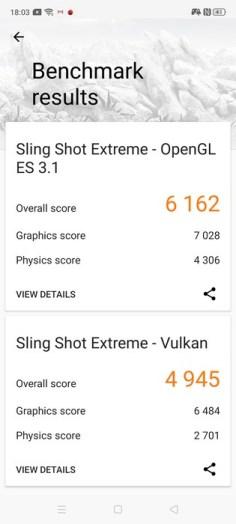 realme X2 Pro 3D Mark