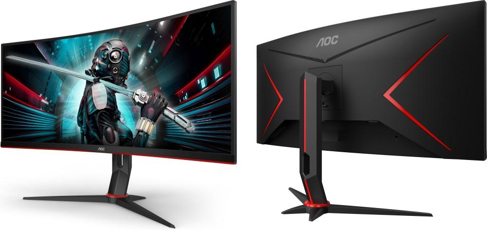 AOC CU34G2 dan CU34G2X: Duo Monitor Gaming 34 Inci dengan Desain Curved dan Dukungan AMD FreeSync 11