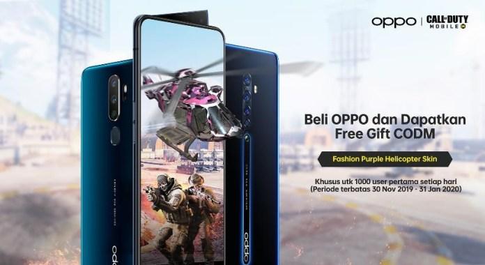 OPPO Bagi-Bagi Hadiah Gratis untuk Pemain COD Mobile