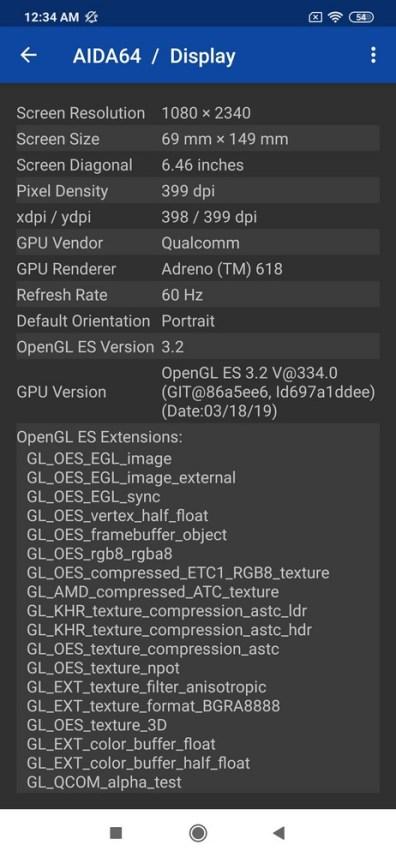 Xiaomi Mi Note 10 Pro AIDA64 (1)