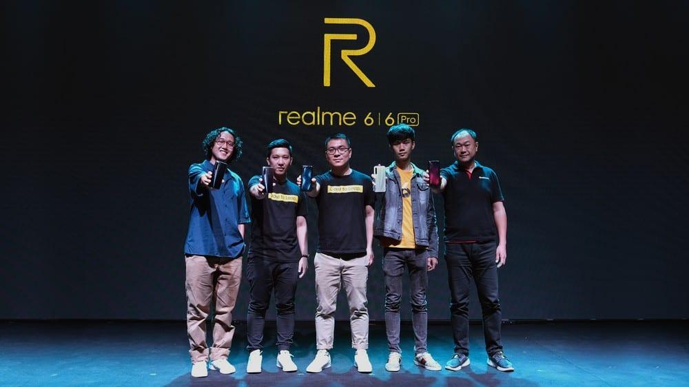 Foto Bersama Peluncuran realme 6 Series