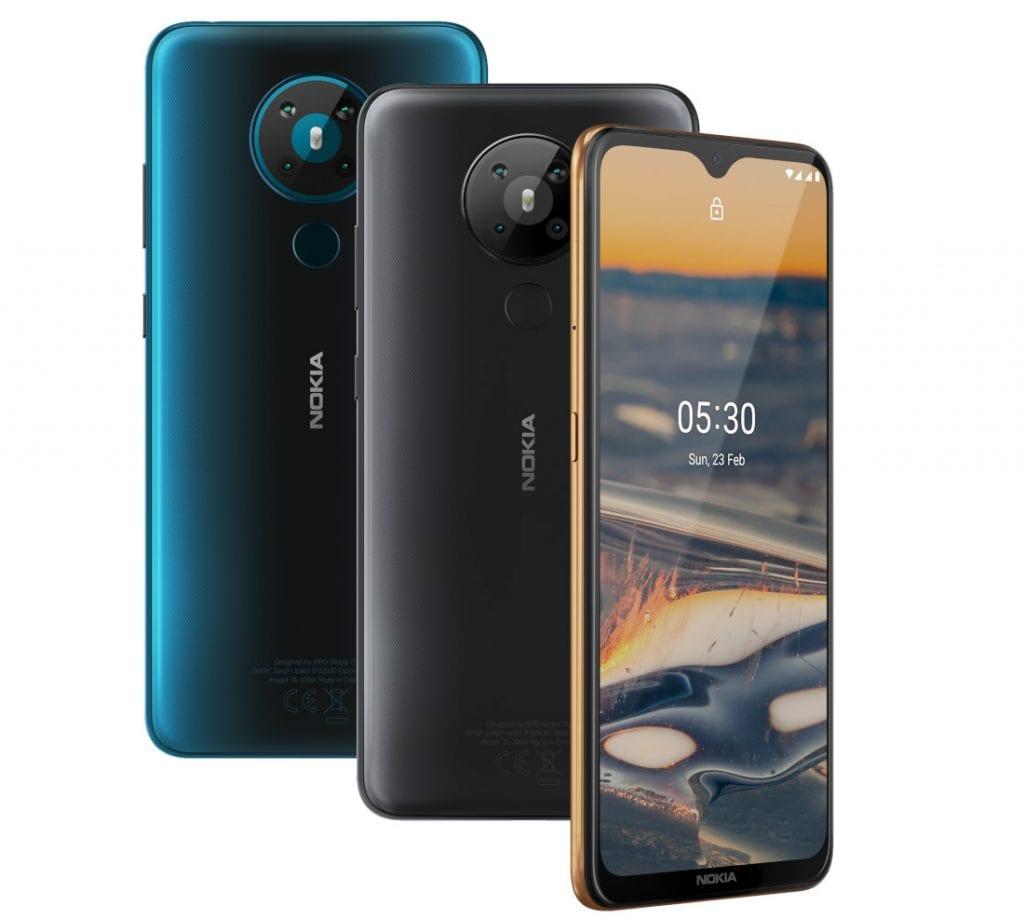 Nokia 5.3: Android One Kelas Menengah dengan Snapdragon 665 dan 4 Kamera Belakang 16 android, android one, Nokia, Nokia 5.3, smartphone