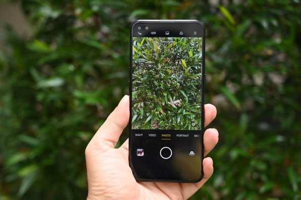 oppo reno3 pro menu kamera belakang