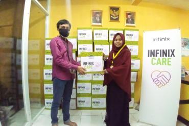 INFINIX Berbagi dengan Anak Yatim di Jakarta Melalui Program #INFINIXCARE 11 infinix