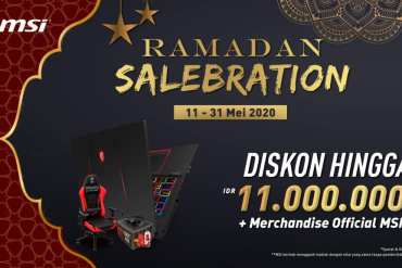 MSI Gelar Ramadan Salebration, Tawarkan Diskon & Lucky Draw Menarik 12 harga laptop, harga msi, msi, promo laptop