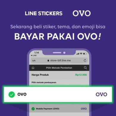 LINE Stiker OVO 1