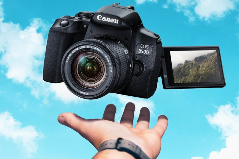 canon eos 850D 1