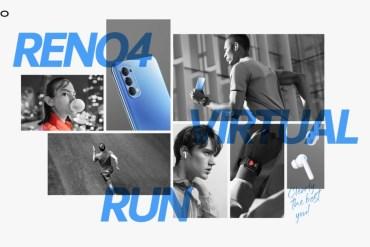 OPPO Reno4 Virtual Run