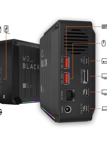 Western Digital Black D50 Thunderbolt 3 Game Dock 1