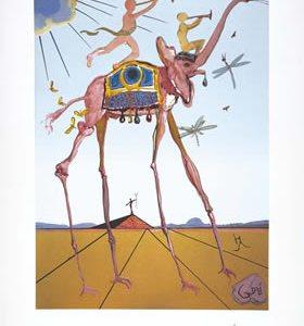 Elephant De Triomphe by Salvador Dali