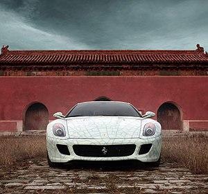 Ferrari 599 GTB Fiorano China 2009 by Lu Hao