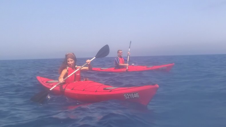 Malta from different perspective – Kayak