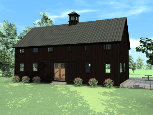 Newest Barn House Design and Floor Plans from Yankee Barn Homes barn house