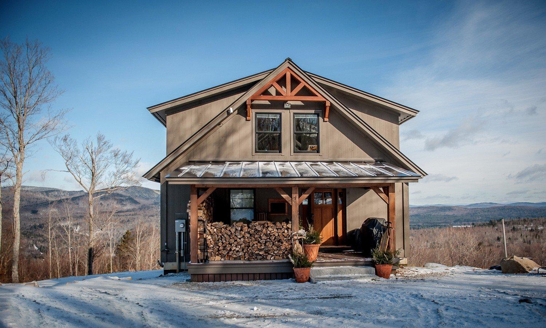 Best Kitchen Gallery: Moose Ridge Mountain Lodge Yankee Barn Homes of Post And Beam Home Designs  on rachelxblog.com
