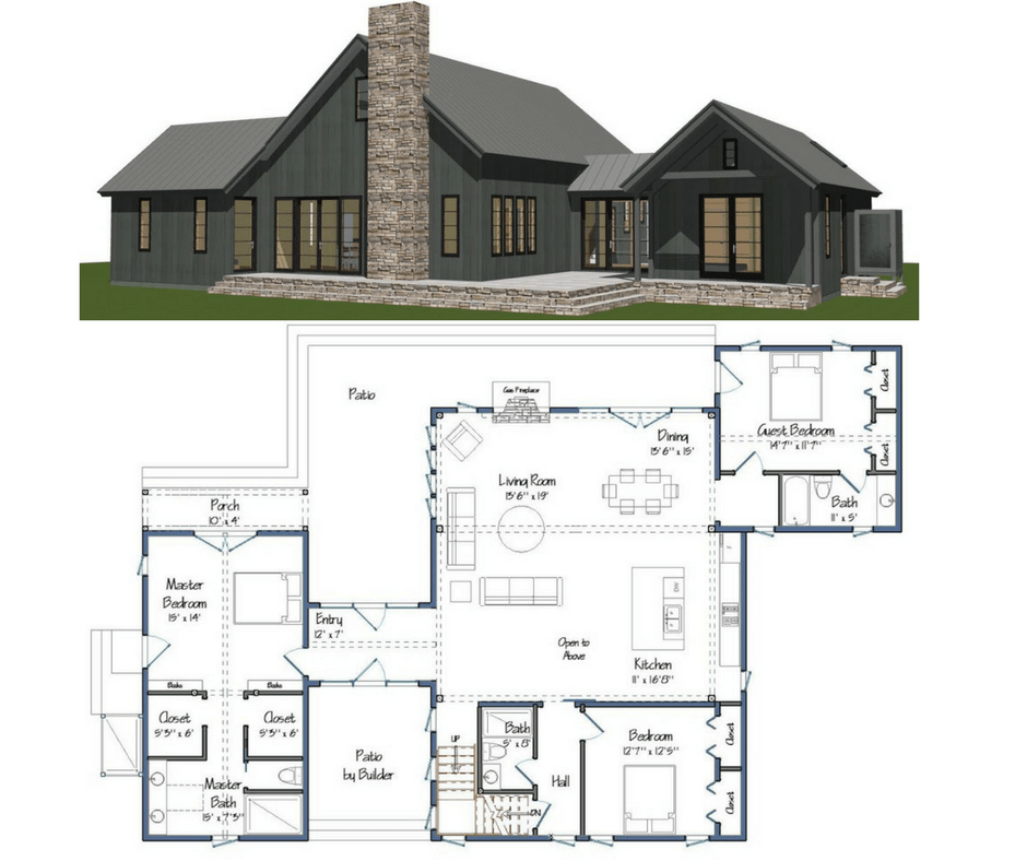 New Yankee Barn Homes Floor Plans