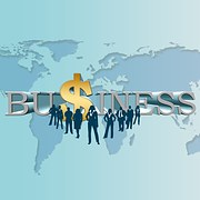 business world illustration