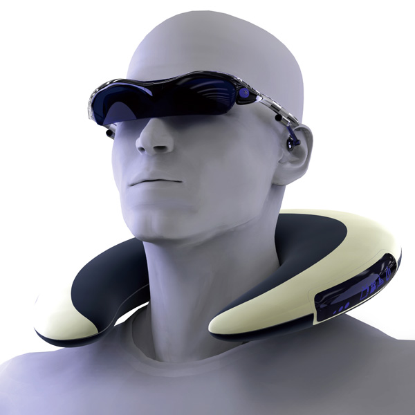 Digital Neck Pillow