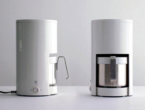 Muji Non Directional Coffee Maker By Kazushige Miyake