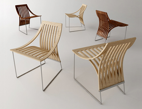 The One Cut Concept for Seating by Scott Jarvie