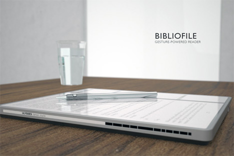 Bibliofile Electronic Book Reader by Nadeem Haidary