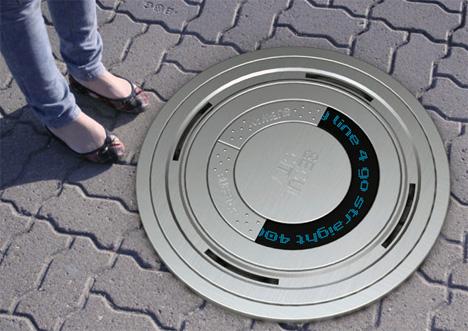 Regístrate Eco - Electronic boca de inspección cubre Para llegar por Cheolyeon Jo & Youngsun Lee