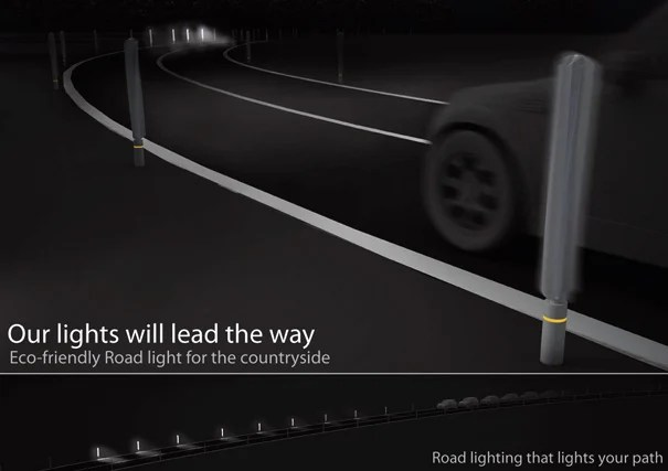 Our Lights Eco-friendly Road Light for the Countryside by Sungi Kim & Hozin Song