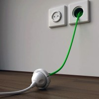 Extension cord in your wall