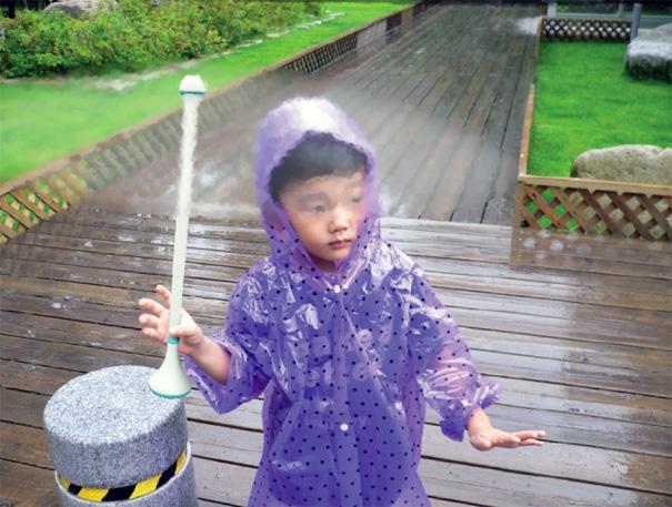 Air Umbrella by Je Sung Park