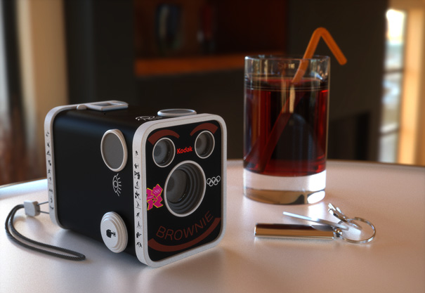 2012 Olympic Kodak Brownie Camera by James Coleman