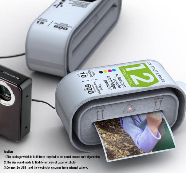 The Instant Cartridge Printer
