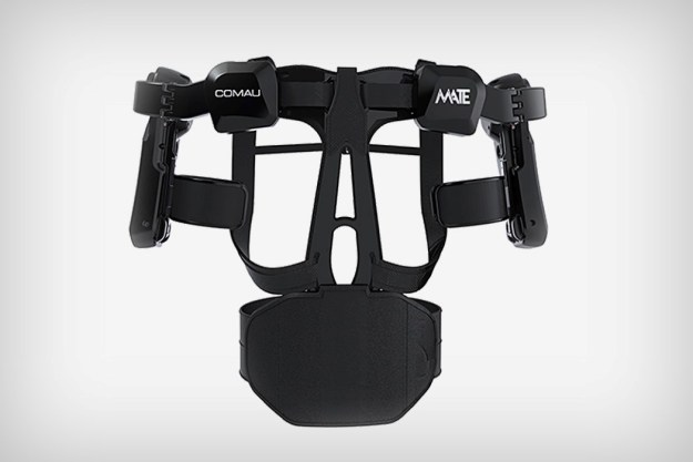 comau_mate_exoskeleton_2 The MATE is a purely mechanical exoskeleton that augments human strength Design