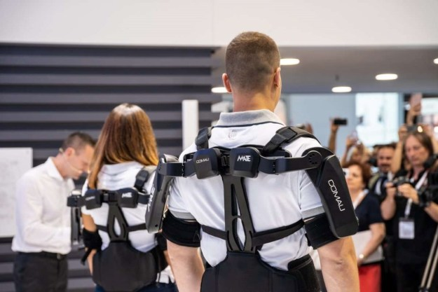 comau_mate_exoskeleton_4 The MATE is a purely mechanical exoskeleton that augments human strength Design