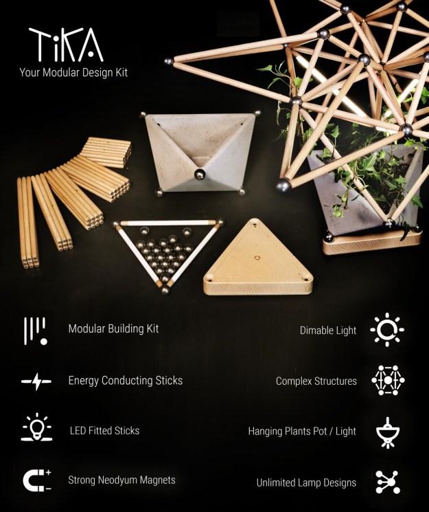 tika_modular_design_kit_01 Design-driven Building Sticks for the Curious and Aesthetically-inclined Design Random