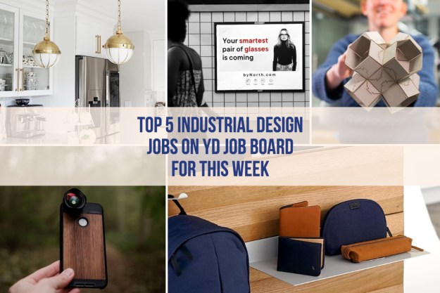 00-Title Top 5 Industrial Design Jobs for this week Design