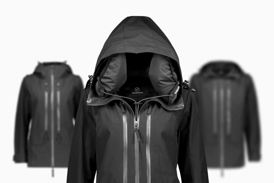 the neckpacker 2 0 travel jacket has
