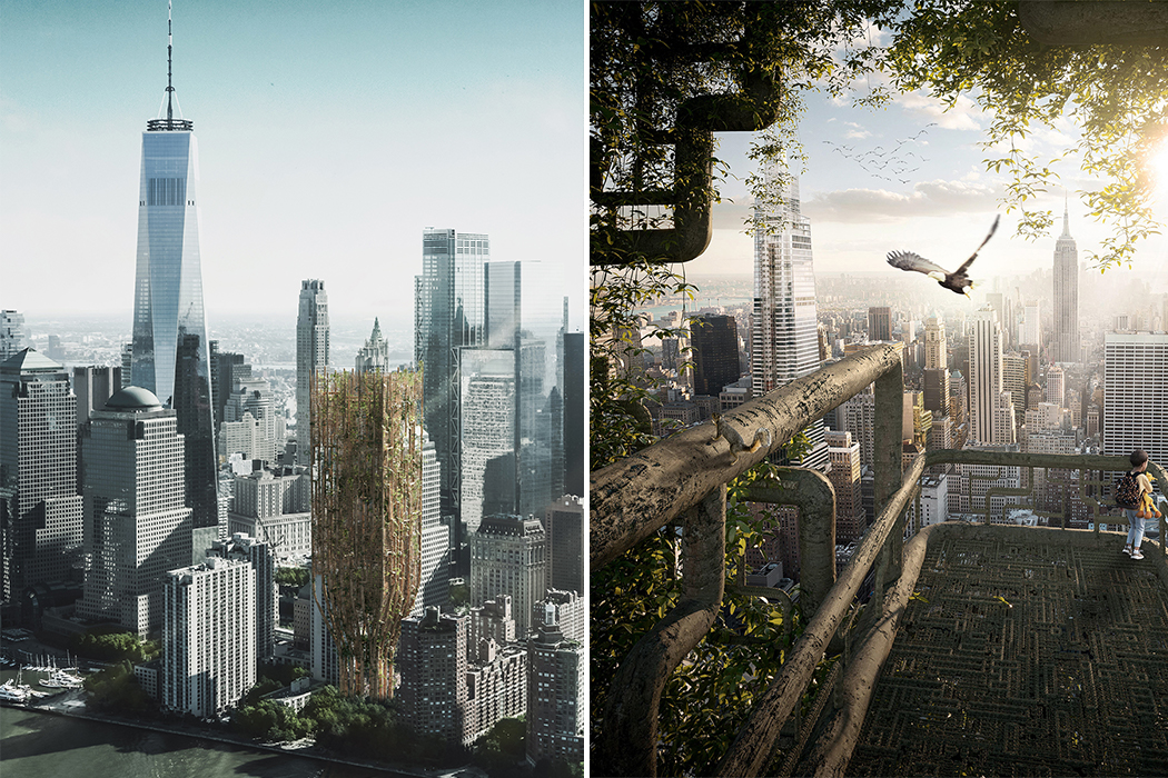 A Touch of Nature + Sustainability to Modern Architecture