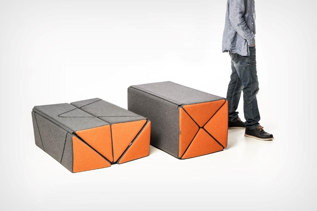 Tango Modular Multifunctional Pouf Furniture