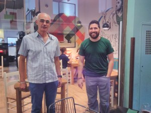 German Carrizo y Paco Alemany en d Petrona