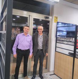 """Inauguración de """"Mediterranea7"""" con Luis"""
