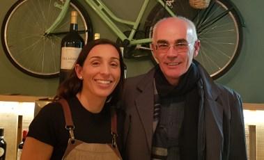 Maria de Il Cortile y Paco de Yantarplus