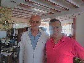 Paco Alemany con Leo de la Visteta