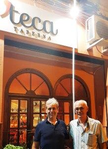 Toni de la Taberna Teca y Paco de Yantarplus_