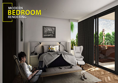 3D interior design Firms concept house   home CGI drawings by     Modern Bedroom Interior Design Australia