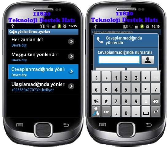 Android Telefonlarda Arama Ayarları, android arama yönlendirme, görüntülü konuşma ayarları, telefonla konuşurken gelen aramayı görme arama yönlendirme iptal, Android Arama Ayarları