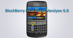 BlackBerry Hard Reset Versiyon 6