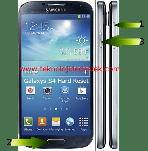 Samsung i9500 Galaxy S4 Hard Reset