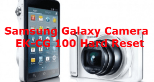Samsung Galaxy Camera EK-CG 100 Hard Reset