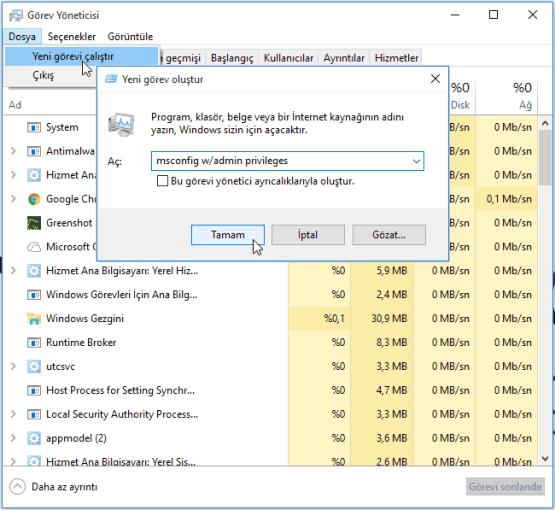 Windows 10 Başlat Menüsü Çalışmıyor, Windows 10 Başlat Menüsü Açılmıyor, Windows 10 Başlat Menüsü Kayboldu, Cortana, Sorunu Çözümü,Cortana Çalışmıyor,