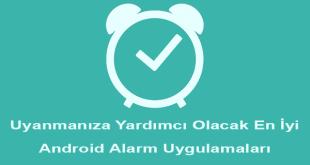 Uyanmanıza Yardımcı Olacak En İyi Android Alarm Uygulamaları