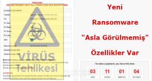 Yeni Fidye Yazılımı, Ransomware,GandCrab Nedir, Fidye Yazılımı, Virüs Nasıl Temizlenir,